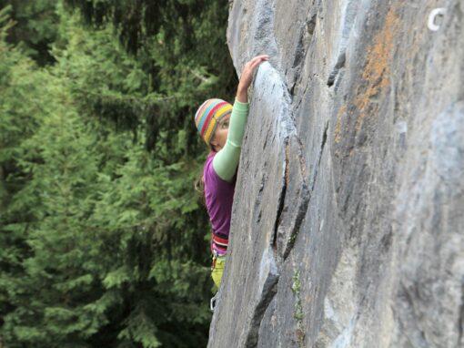 Der Kopf ist der stärkste Muskel beim Klettern