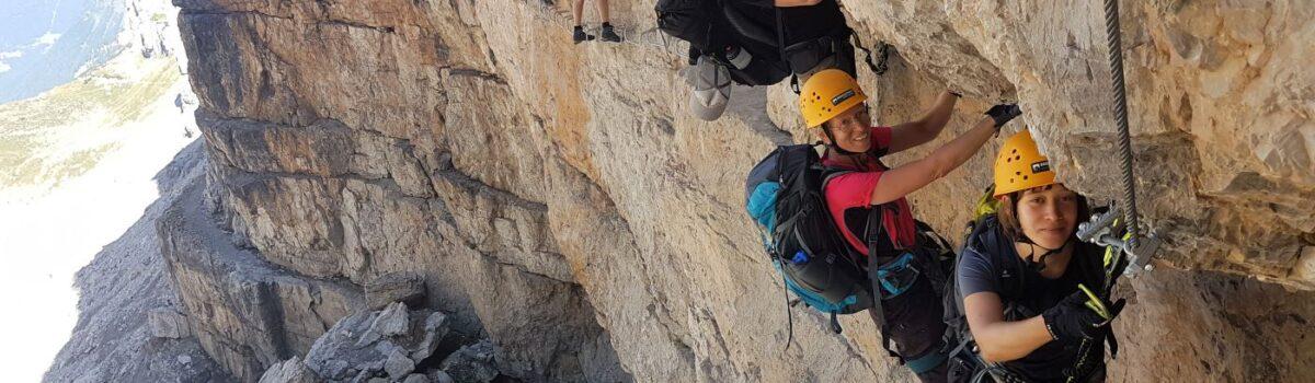 Klettersteig sicherheit