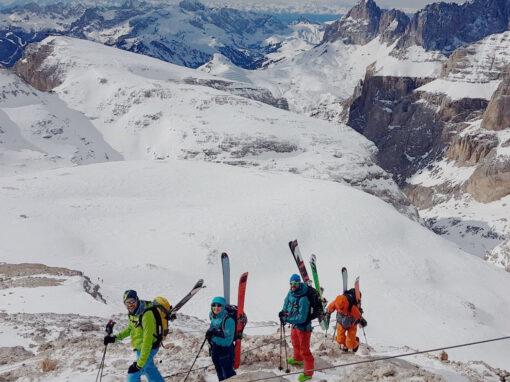 Mentale Stärke am Berg auf Skitour